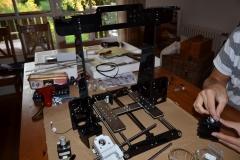 halbfertiger 3D-Drucker