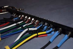 Patch-Panel from behind