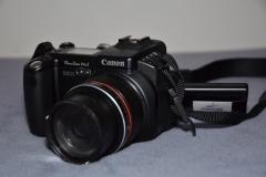 Fotoapparat in Benutzung