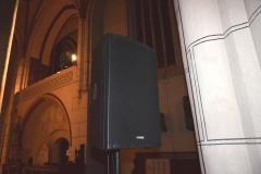 Box 15A auf Konzert in der Kirche