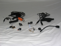 audio and video cables and adaptors