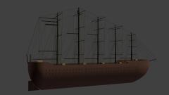 Orca mit Kanonen